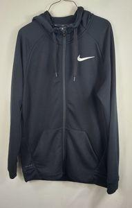 Nike Dri Fit Men's full zip black hoodie